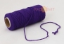 Cotton twine purple, 45 meters 0