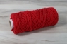 Cotton cord red, 50 meters 0