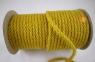 Jute rope in yellow color, diameter 6 mm, 25 meters 1