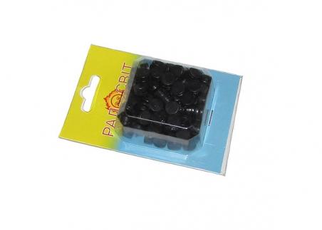Пломби пластмасові, діаметр 10 мм, 100шт/уп.