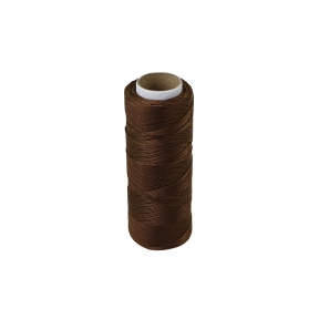 Polyamide thread 187 tex brown, 250 meters