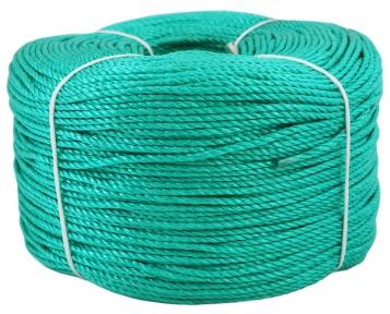 Шнур поліпропіленовий зелений, діаметр 3мм, 400 метрів