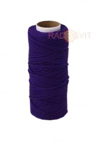 Cotton twine purple, 45 meters