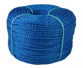 Шнур поліпропіленовий синій, діаметр 5мм, 200 метрів