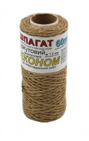 Шпагат джутовий ЕКОНОМ, 60 метрів/бобіна