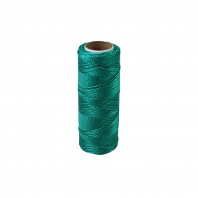 Polyamide thread 375 tex green, 125 meters