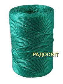 Polypropylene twine, 2000 tex, 250 meters, green