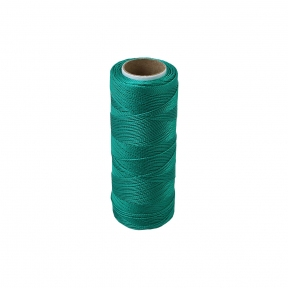 Polyamide thread 187 tex green, 250 meters
