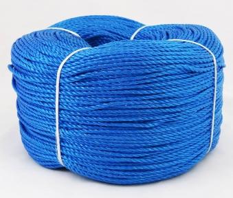 Шнур поліпропіленовий синій, діаметр 3мм, 400 метрів