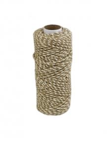 Jute cord natural/bleached, 50 meters
