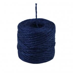 Шпагат джутовий синій, 45 метрів