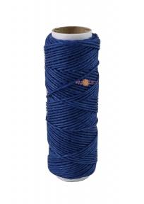Шпагат лляний полірований синій, 35 метрів