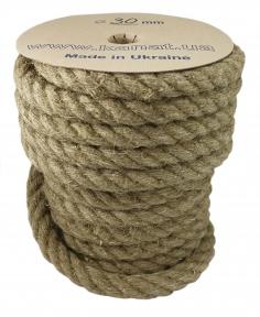 Linen rope Ø 30mm, 25 meters