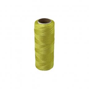 Polyamide thread 187 tex yellow, 250 meters