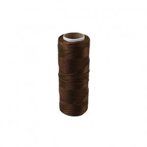 Polyamide thread 375 tex brown, 125 meters