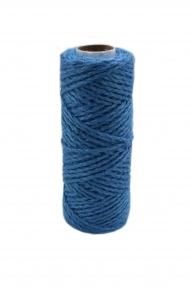 Jute cord light blue, 50 meters