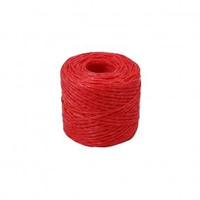 Polypropylene twine red, 100 meters