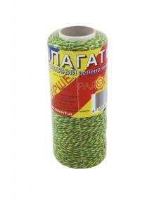Шпагат бавовняний жовто-зелений, 100 метрів