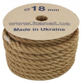Jute rope, diameter 18mm, 25 meters