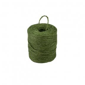 Шпагат джутовий зелений, 90 метрів