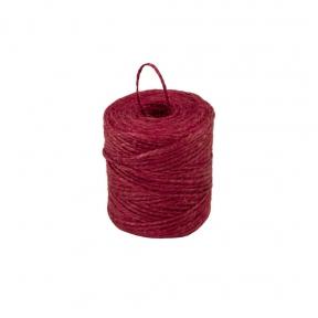 Шпагат джутовий червоний, 90 метрів